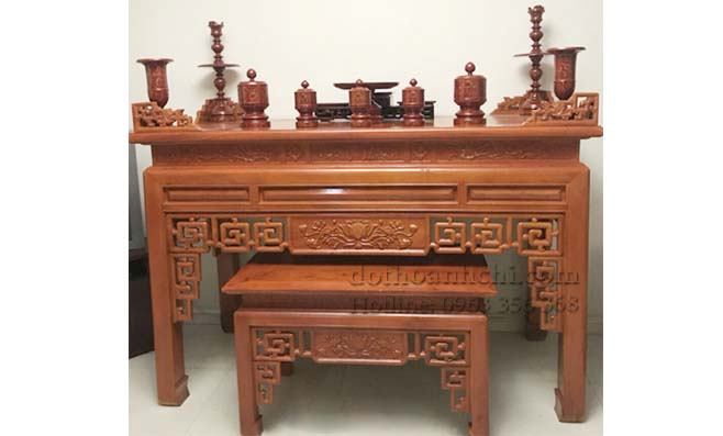 Bàn thờ gỗ - MSP007